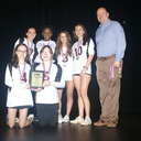Girls' Volleyball Sportsmanship Winners photo album thumbnail 22
